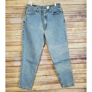 Vintage Levis 512 Slim Fit Straight Leg Jeans 16